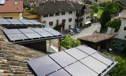 Multi-family house BIPV roofing system (building owner)