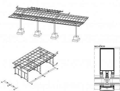 Detail of the BIPV roof systems © Sunovation