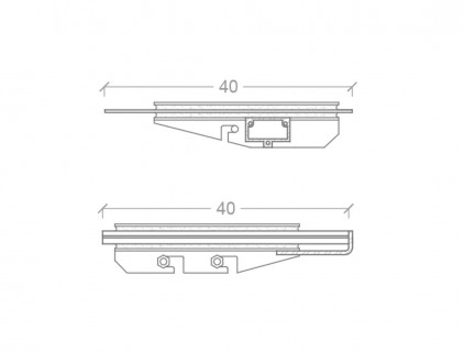 Technical details of the two different typologies of modules structure and mounting system: glass/Tedlar modules (a) and glass/glass modules (b) re-drawing of Eurac (FAR System Srl)